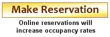 Online reservations will increase occupancy rates