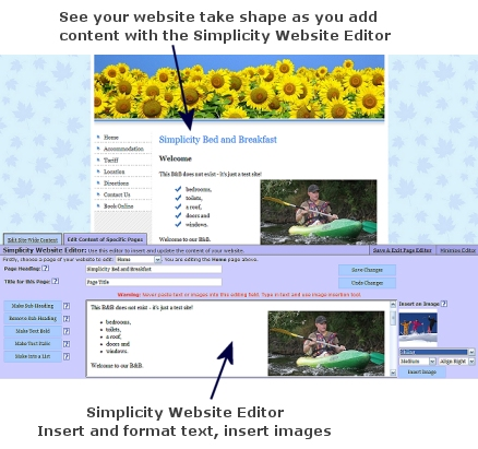 Website Editing Tool